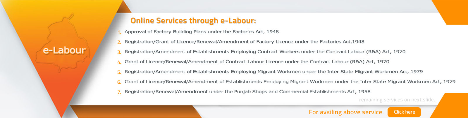DEPARTMENT OF LABOUR - PUNJAB